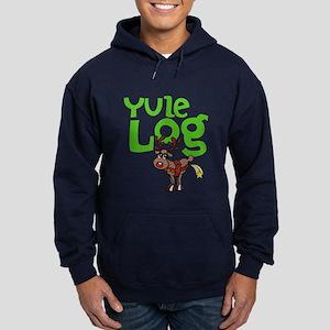 Yule Log Hoodie (dark)