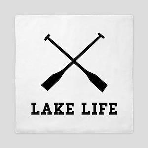 Lake Life Queen Duvet