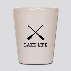 Lake Life Shot Glass