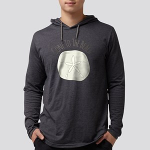 Gone To Beach Mens Hooded Shirt