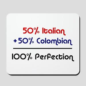 Italian & Colombian Mousepad