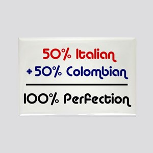 Italian & Colombian Rectangle Magnet