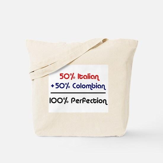 Italian & Colombian Tote Bag