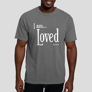 I am Loved Romans 5:8 Mens Comfort Colors Shirt