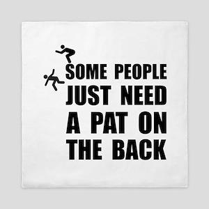 Pat On Back Queen Duvet