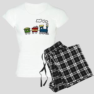 Choo-Choo Train Women's Light Pajamas