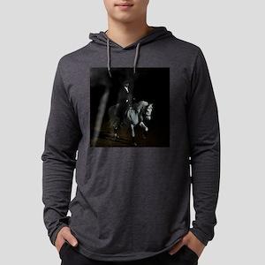 dressage_drysquare Mens Hooded Shirt