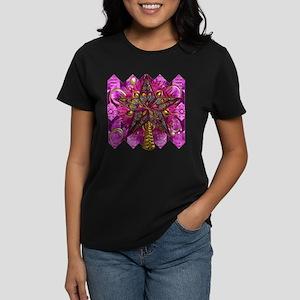 Harvest Moons Groovy Star Women's Dark T-Shirt