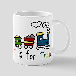 T Is For Train Mug