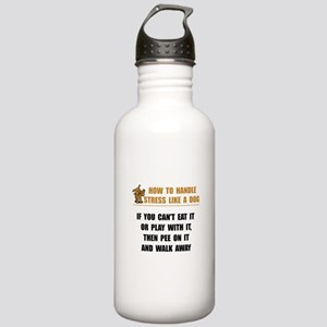 Stress Like Dog Stainless Water Bottle 1.0L