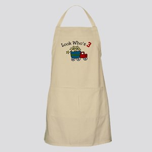 Look Who's 3 Apron