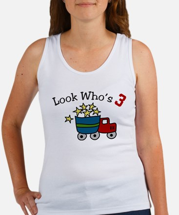 Look Who's 3 Women's Tank Top