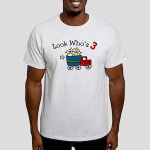 Look Who's 3 Light T-Shirt