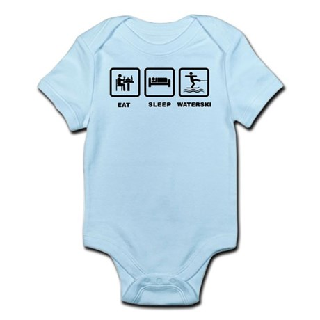 Waterskiing Infant Bodysuit