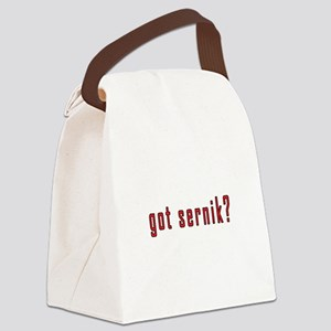 got sernik? Canvas Lunch Bag