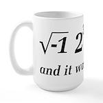 I Ate Some Delicious Pi Math Joke Large Mug