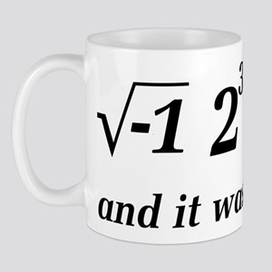 I Ate Some Delicious Pi Math Joke Mug