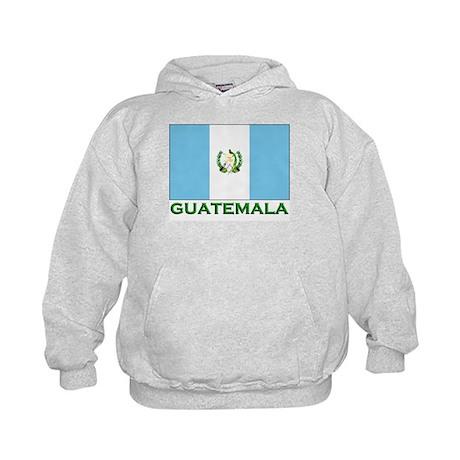 Flag of Guatemala Kids Hoodie