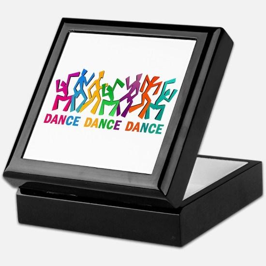 Dance Dance Dance Keepsake Box