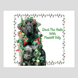 Mastiff Folly Small Poster