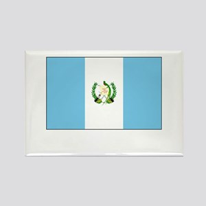 Guatemala Flag Picture Rectangle Magnet