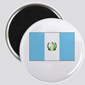 Guatemala Flag Picture Magnet