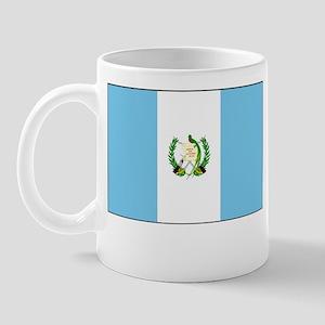 Guatemala Flag Picture Mug