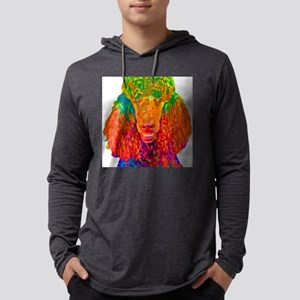 Psychadelic Poodle Mens Hooded Shirt