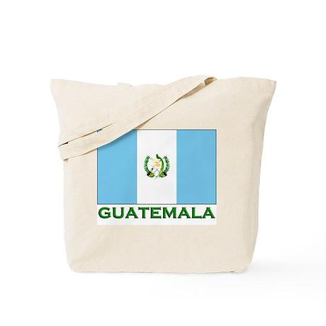 Guatemala Flag Stuff Tote Bag