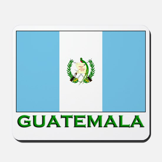 Guatemala Flag Stuff Mousepad