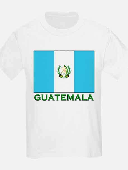 Guatemala Flag Stuff Kids T-Shirt