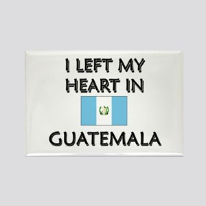 I Left My Heart In Guatemala Rectangle Magnet