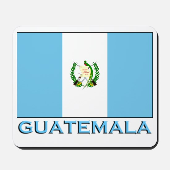 Guatemala Flag Gear Mousepad