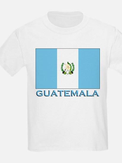 Guatemala Flag Gear Kids T-Shirt