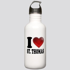 I Heart St. Thomas Stainless Water Bottle 1.0L