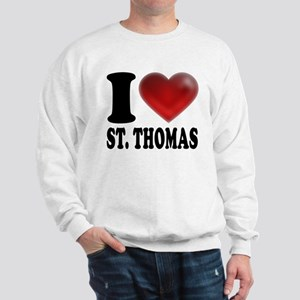 I Heart St. Thomas Sweatshirt
