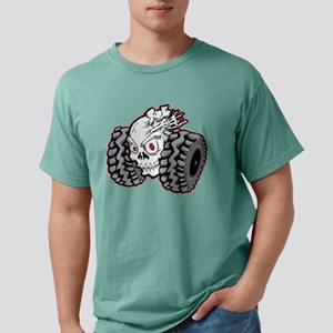 OffRoad Styles Skull Rol Mens Comfort Colors Shirt