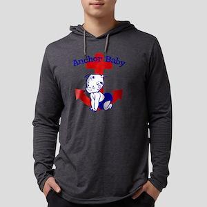 Anchor Baby Mens Hooded Shirt