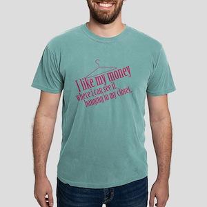 I Like My Money Mens Comfort Colors Shirt