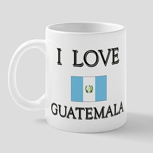 I Love Guatemala Mug