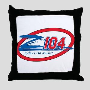 Z104-FM (WZEE) Throw Pillow