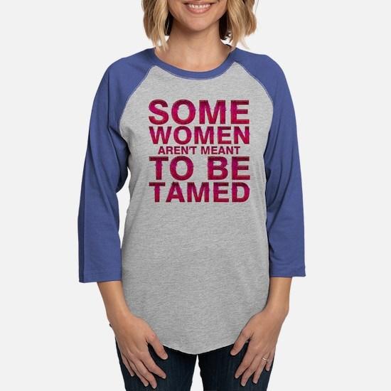 Tamed Womens Baseball Tee