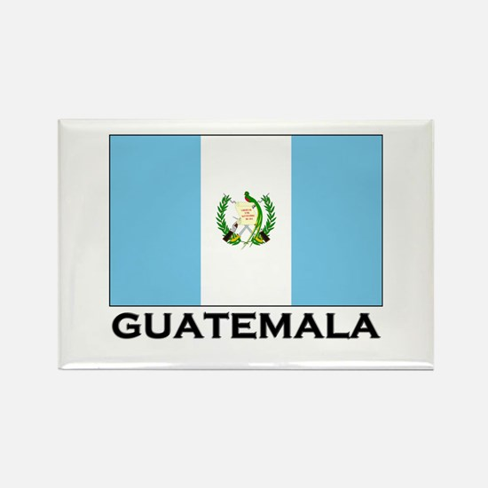 Guatemala Flag Merchandise Rectangle Magnet