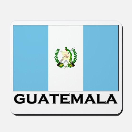 Guatemala Flag Merchandise Mousepad