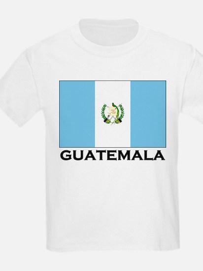 Guatemala Flag Merchandise Kids T-Shirt