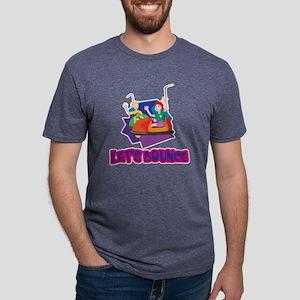 Lets Bounce Bumper Cars Mens Tri-blend T-Shirt