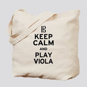 Keep Calm Viola Tote Bag