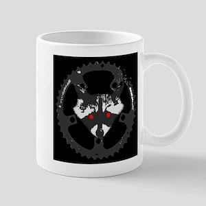 Bike Commuter Cabal Zombie Raccoon Mug