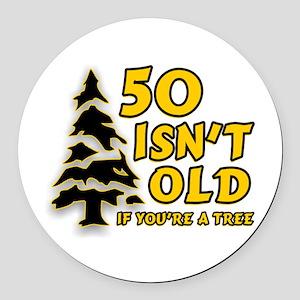 50 Isnt old Birthday Round Car Magnet