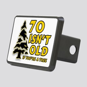 70 isn't old Rectangular Hitch Cover